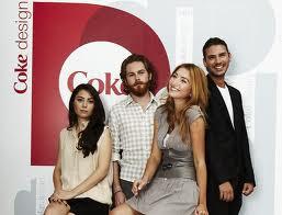 coke design logo